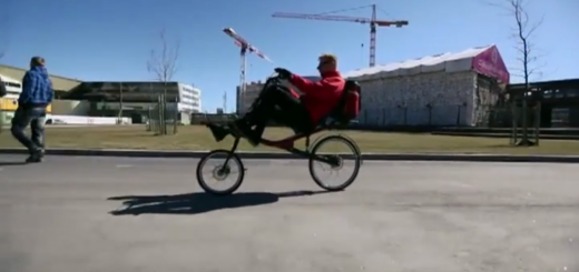 mirage recumbent bike from Finnland with shaft drive