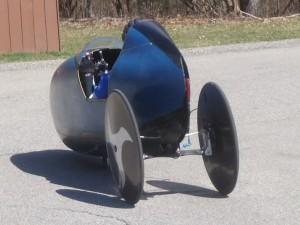 tilting velomobile - varna orpheus