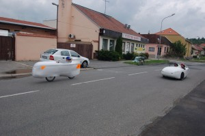 duo quest velomobile and streamliner Vaniczka 1st