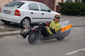 Last recumbent built by Nink - lowracer with simple tailbox
