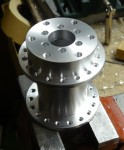 custom made rear hub for delta trike